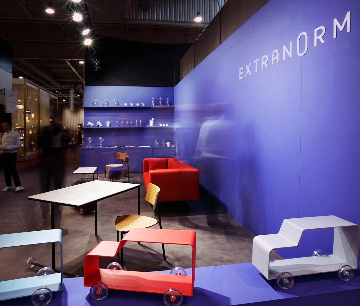 Le stand Extranorm à Maison & Objet de septembre 2016