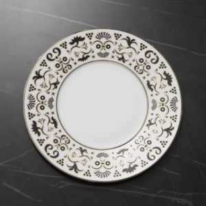 Delirium - Dinner plate EXTRANORM DESIGN PATRICK KNOCH PORCELAINE LIMOGES